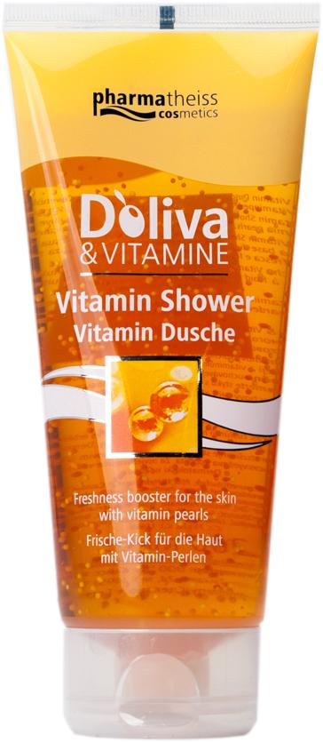 Долива витаминен душ гел
