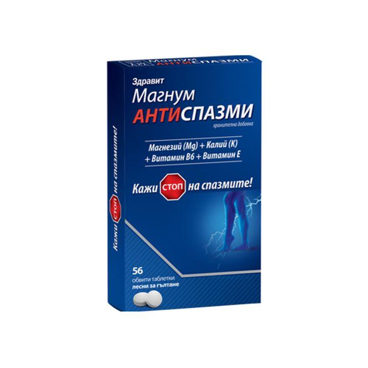 Магнум АНТИСПАЗМИ / MAGNUM ANTISPASMODICS