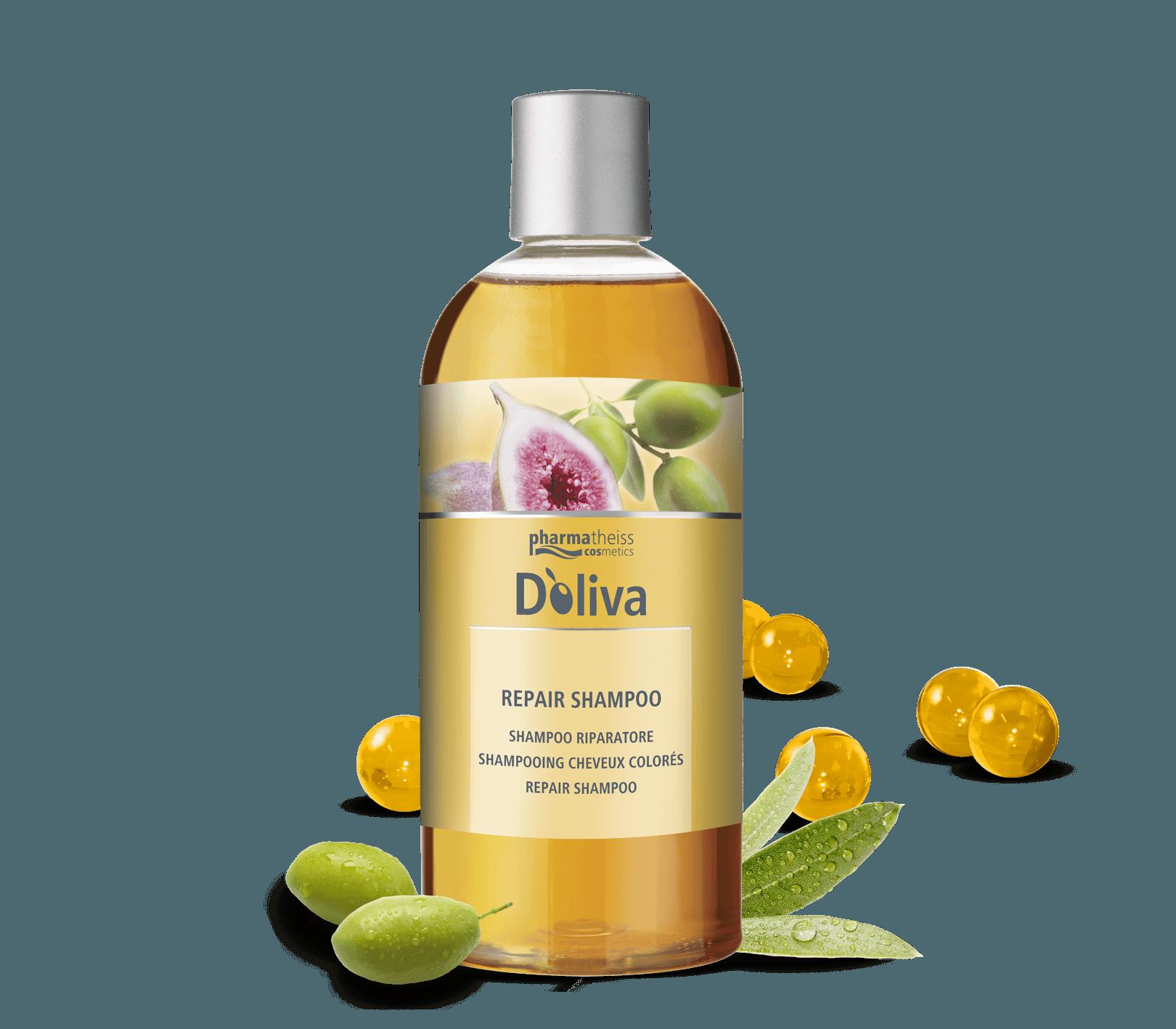 Долива възстановяващ шампоан със смокиня