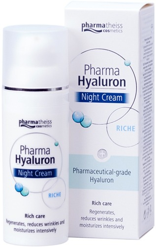 Pharma Hyaluron нощен крем Riche
