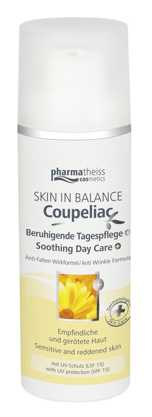 Coupeliac успокояваща дневна грижа SPF 15