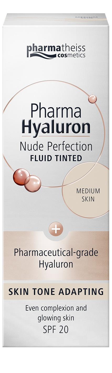 Nude Perfection Тониращ анти-ейдж флуид за матова кожа с SPF20